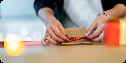 ピッキングや包装などに必要な情報がスタッフに自動で通知されます